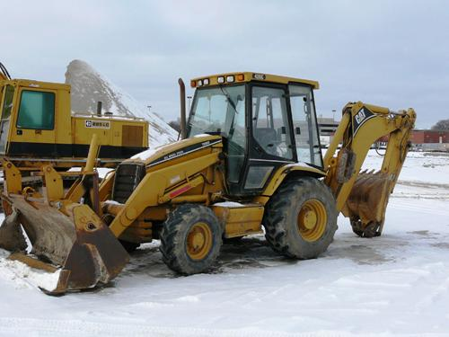TRACTOR LOADER BACKHOE TRAINING